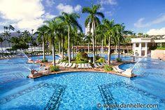 Kauai Marriott pool... Honeymoon!