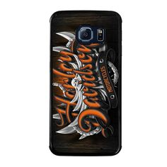 HARLEY DAVIDSON MOTORCYCLES LOGO Samsung Galaxy S6 Edge Case - Best Custom Phone Cover Cool Personalized Design – Favocase