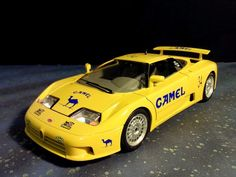 Bugatti EB 110 1994 - Einzelstück Le Mans Camel SN. 34 - 1:18