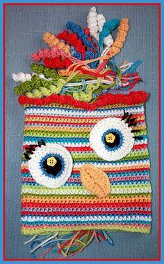 Lastest Owl@Kate Stubenvoll#crochet#owl