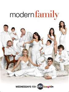 Modern Family - one of the funniest shows on tv.  It makes me giggle :o)