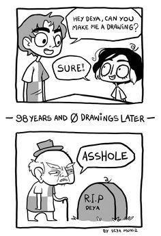 Drawings on Demand - deya muniz
