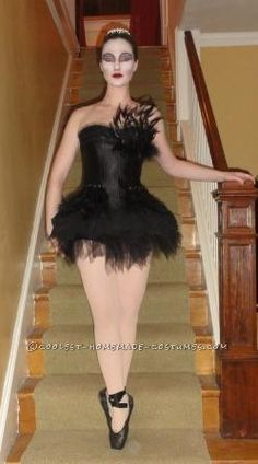 Black Swan Costume Modeled on Rodarte ... This website is the Pinterest of costumes