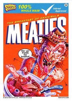 Cereal Killers 2 - Meaties Horror Movie Characters, Horror Films, Horror Art, Horror Cartoon, Funny Horror, Cereal Killer, Very Scary, Thing 1, Iconic Movies