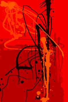 Red Abstract # by Martin Howard Modern Art, Contemporary Art, Street Art, Jazz Art, Red Art, Art Design, Love Art, Art Boards, Amazing Art