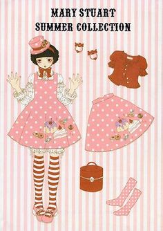 Kira Imai Mary Stuart Summer Collection pink polka dot