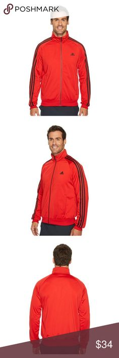 98d842e66bf7 Adidas 3 Stripes Tricot Track Jacket Men s Adidas 3 Stripe Tricot Track  Jacket Men s Size Large