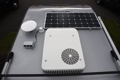 Cirrus 820 air conditioner and solar panel