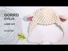 Tutorial Gorro Bebé Crochet o Ganchillo Oveja - YouTube