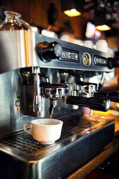 Life easy with espresso coffee machine