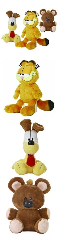 Garfield 1195: Garfield Stuffed Animals And Teddy Bears The Cat Plush Set: Garfield, Odie, Pooky -> BUY IT NOW ONLY: $35.17 on eBay!