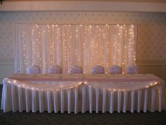 Wedding Backdrop - with some cherry blossoms/dogwood branches...