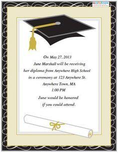Free Printable Graduation Invitations College Invitation Templates