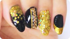 The Huntsman the Evil Queen inspired nail art ✩ Martina Ek