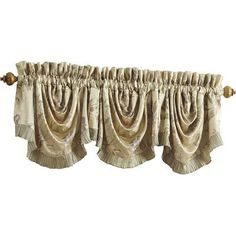 Croscill Iris Rod Pocket Swag 44 Curtain Valance