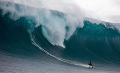 Big wave surfing. Gives me chills just looking at this pic