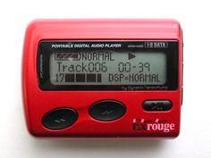 3rd MP3 Player HyperHyde Exrouge 128MB(2001)