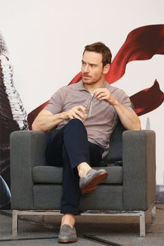Michael Fassbender in Mexico to promote Assassin Creed Movie