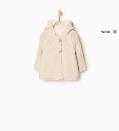 Knit cardigan with fleece lining-OUTERWEAR-Baby girl-Baby | 3 months - 3 years-KIDS | ZARA United States