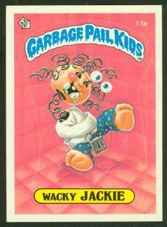 Wacky Jackie | Garbage Pail Kids