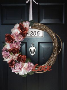 Make Your Place Your Home: DIY Valentine's Day Wreath