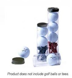 VisiPak Golf Ball Tubes give your promotional campaign the additional impact it deserves. The tubes feature one permanently sealed end and a plastic plug with a thumb tab for easy removal.