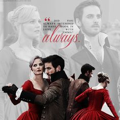 Once upon a time - Captain Hook - Colin O'donoghue - Killian Jones - Jennifer Morrison - Emma Swan – Captain Swan – OUAT Captain Swan, Captain Hook Ouat, Once Upon A Time, Movies Showing, Movies And Tv Shows, Lying Game, Abc Tv Shows, Hook And Emma, Outlaw Queen