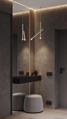 Lobby Interior, Apartment Interior, Luxury Interior, Home Entrance Decor, House Entrance, Home Room Design, Bathroom Interior Design, Flur Design, Hallway Designs