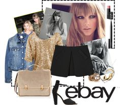 """""""Dress your Bestie with Ebay"""" by kristycullen ❤ liked on Polyvore"""
