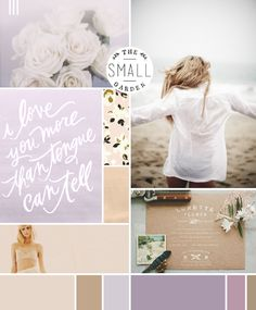 Wheat with airy purples; moodboard by breanna rose--nice color scheme for a bedroom Emerald Green Weddings, Purple Wedding, Wedding Colors, Wedding Decor, Wedding Ideas, Web Design, Rose Design, Graphic Design, Zine