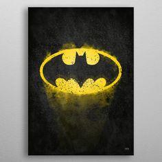 Drawing Dc Comics - See amazing artworks of Displate artists printed on metal. Easy mounting, no power tools needed. Dc Comics, Batman Comics, Anime Comics, Comic Poster, Comic Art, Comic Book, Batman Logo, Hope Symbol, The Dark Knight Rises
