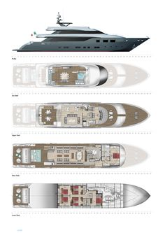 Nadara 47 Yacht for Sale Layout Tecnomar .. | superyachts.com