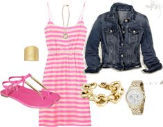 """6.28.12 pink...again"" by turquoise22 ❤ liked on Polyvore"