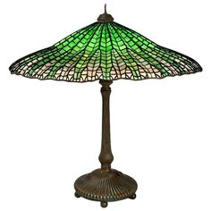 """Tiffany Studios """"Mandarin"""" Table Lamp 