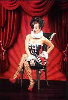 Sequin Harley Quinn Clown Sexy Adult Black Red White Halloween Cosplay Costume