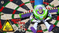 QC#46 - Buzz Blaster: I taped Buzz Lightyear to a rocket, and lit the fuse.