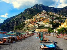 Positano, Italy by Fernando W, via Flickr