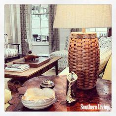 Sneak Peek! Nashville #SLIdeaHouse at Fontanel | Living Room | Photo by Claire Machamer