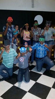 Super hero party super heroes