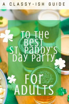 Throw a St. Patrick's Day Party with an Irish Beer Tasting Beer Drinking Games, Day Drinking, Irish Games, St Patrick's Day Appetizers, St Patrick's Day Games, St Patrick's Day Traditions, Pumpkin Beer, Irish Potatoes, Irish Beer