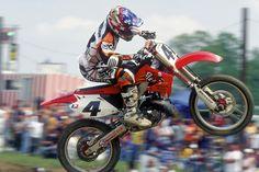 30 Greatest AMA Motocrossers: Ricky Carmichael - Racer X Online Mx Racing, Dirt Bike Racing, Off Road Racing, Dirt Biking, Yamaha Motocross, Motocross Riders, Ricky Carmichael, Vintage Motocross, Bike Rider