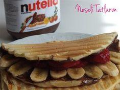 Tost Makinasında Waffle Tarifi MALZEMELER // 2 adet yumurta 2 tepeleme yemek kaşığı toz ş...