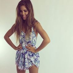 I think this is a pretty cute romper. I don't have any rompers but I would like to invest in getting some. I think they are very cute and easy to wear cause it's just one piece.^·^¥€£