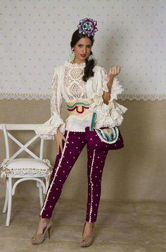M s de 1000 im genes sobre pantalones flamenca en for Pantalones asiaticos