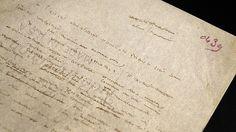 manuscript, le petit prince by antoine de saint-exupery