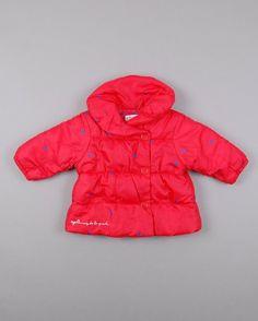 Abrigo acolchado de corazones de Agatha Ruiz de la Prada talla 6 meses 11,25€ http://www.quiquilo.es/catalogo-ropa-segunda-mano/abrigo-acolchado-de-corazones-color-rojo-de-la-marca-agatha-ruiz-de-la-prada.html