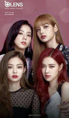 Blackpink x olenz Blackpink Lisa, Jennie Blackpink, Kpop Girl Groups, Korean Girl Groups, Kpop Girls, Divas, Forever Young, Korean Beauty, Asian Beauty