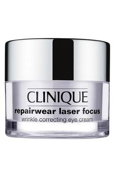 Clinique 'Repairwear Laser Focus' Wrinkle Correcting Eye Cream available at #Nordstrom
