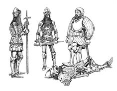 Medieval Armor, Medieval Fantasy, Body Sketches, Late Middle Ages, Medieval Clothing, Prince Of Wales, 14th Century, Toolbox, Military History