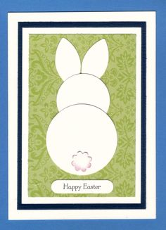 This is a great way to make cards & I think they also just jump off the page! Have a go at making Punch Art Cards & have fun bringing y. Diy Easter Cards, Easter Crafts, Easter Ideas, Handmade Easter Cards, Kids Cards, Baby Cards, Punch Art Cards, Diy Ostern, Cool Cards